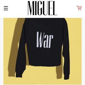 Miguel merch sweatshirt